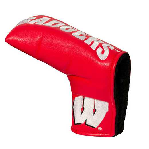 23950: Vintage Blade Putter Cover Wisconsin Badgers